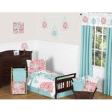 Sweet Jojo Designs Emma 5 Piece Toddler Bedding Set Polyester in Blue   Wayfair Emma-Tod