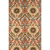 """Momeni Rugs Tangier Collection 100% Wool Hand Tufted Tip Sheared Transitional Area Rug, 5'0"""" x 8'0"""", GOLD"""
