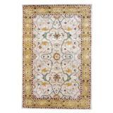 Herat Oriental Hand-Tufted Wool Beige/Gold Area RugWool in White, Size 36.0 H x 24.0 W x 0.5 D in   Wayfair WF-T406-Z15