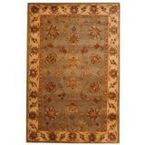 Herat Oriental Hand-Tufted Wool Gray/Beige Area RugWool in Brown, Size 96.0 H x 60.0 W x 0.5 D in   Wayfair WF-T664-Z700