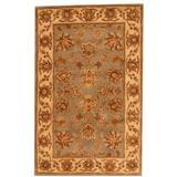 Herat Oriental Hand-Tufted Wool Gray/Beige Area RugWool in Brown, Size 63.0 H x 39.0 W x 0.5 D in   Wayfair WF-T666-Z700
