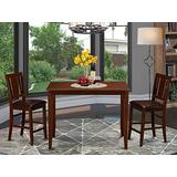 3 Pc Counter height Table set-counter height Table and 2 counter height Chairs.
