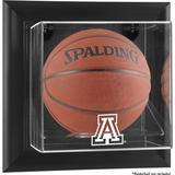 """Arizona Wildcats Black Framed Wall-Mountable Basketball Display Case"""