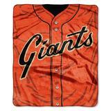 """""""San Francisco Giants 50"""""""" x 60"""""""" Plush Jersey Blanket"""""""