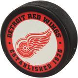 """Detroit Red Wings WinCraft Printed Hockey Puck"""