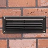 Kichler Hardwired Deck Light in Brown, Size 4.0 H x 9.5 W x 4.0 D in | Wayfair 15773AZT30R