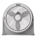 "Lasko Air Circulator 20"" Floor Fan in Gray, Size 23.23 H x 23.9 W x 7.7 D in | Wayfair A20100"