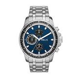 Relic by Fossil Men's Heath Quartz Stainless Steel Dress Watch, Color: Silver-Tone (Model: ZR15835)