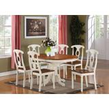 7 Pc Dining room set for 6-Oval Dining Table and 6 Dining Chairs