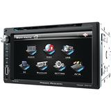 """Power Acoustik PD‐651B 6.5"""" Double-DIN In-Dash LCD Touchscreen DVD Receiver (With Bluetooth)"""