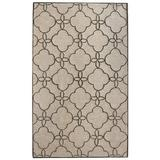 nuLOOM Santa Fe Sasha Hand-Tufted Sand Area RugPolyester in Brown, Size 114.0 H x 90.0 W x 0.5 D in | Wayfair NUJSAN3C-76096