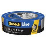 SCOTCH-BLUE 2093 Painters Masking Tape,60ydL x 1-13/32inW