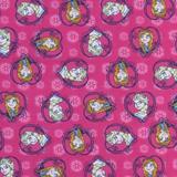 Sheetworld Anna & Elsa Fitted Bassinet Sheet 100% Cotton   Wayfair CB-F496