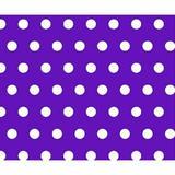 Sheetworld Polka Dots Travel Crib Light Fitted Crib Sheet Cotton in Indigo, Size 24.0 W x 42.0 D in   Wayfair BB-W924