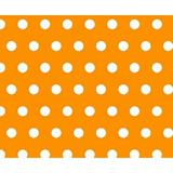 Sheetworld Polka Dots Travel Crib Light Fitted Crib Sheet Cotton in Yellow, Size 24.0 W x 42.0 D in | Wayfair BB-W914
