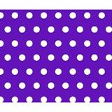 Sheetworld Polka Dots Toddler Fitted Crib Sheet Cotton in Indigo, Size 28.0 W x 52.0 D in   Wayfair C-W924