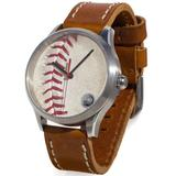 """""""Tokens & Icons Boston Red Sox Game-Used Baseball Watch"""""""