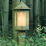 Arroyo Craftsman 1-Light Post (Only) in Brown, Size 84.0 H x 3.0 W in   Wayfair BP-84-RC