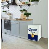 Koolatron Corona 2.4 cu. ft. Freestanding Mini Fridge w/ Freezer in White, Size 31.0 H x 24.0 W x 26.0 D in   Wayfair COR70-W