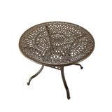 One Allium Way® Yates 4-Piece Dining Set w/ Cushions Metal in Brown, Size 29.0 H x 42.0 W x 42.0 D in | Wayfair OAWY3185 27979712