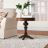 Astoria Grand Hillfield End Table Wood in Brown/Red, Size 24.0 H x 22.0 W x 22.0 D in | Wayfair ASTG1822 27720471