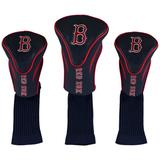 """""""Boston Red Sox 3-Pack Contour Golf Club Head Covers"""""""