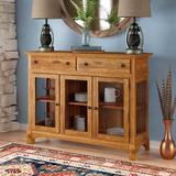 Loon Peak® Corwin Buffet Table Wood in Brown, Size 41.0 H x 54.0 W x 19.0 D in | Wayfair LOON3351 27934341