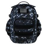 East West U.S.A RTC524 Tactical Multi-Use Molle Assault Military Rucksacks Backpack, Navy Camo