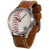 """""""Tokens & Icons Houston Astros Game-Used Baseball Watch"""""""
