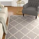 Darby Home Co Brambach Handwoven Wool Grey Area Rug Wool in Gray, Size 72.0 W x 0.25 D in | Wayfair DBHC4575 29878961