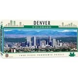 MasterPieces Cityscape Panoramics 1000 Puzzles Collection - Denver Panoramic 1000 Piece Jigsaw Puzzle