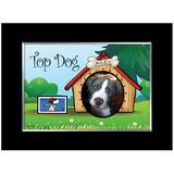 American Coin Treasures Top Dog Personalized Picture Frame in Black, Size 7.0 H x 9.0 W x 1.0 D in | Wayfair 12868