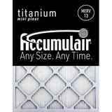 Accumulair Titanium Air Filter in Brown, Size 25.0 H x 20.0 W x 1.0 D in   Wayfair FI20X25_4
