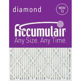Accumulair Furance Air FIlter in Gray, Size 24.0 H x 24.0 W x 1.0 D in | Wayfair FD24X24_4