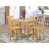 5 PC Dining counter height set-pub Table and 4 counter height stool