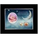 American Coin Treasures Now I Lay Me Down Personalized Picture Frame in Black, Size 7.0 H x 9.0 W x 1.0 D in | Wayfair 12867