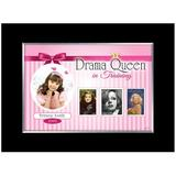 American Coin Treasures Drama Queen in Training Personalized Picture Frame Wood in Black/Brown, Size 7.0 H x 9.0 W x 1.0 D in | Wayfair 12877