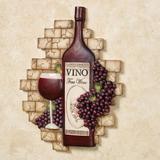 Vino Italiano Wall Plaque Multi Earth , Multi Earth