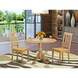 3 Pc Dining room set - Kitchen dinette Table and 2 Dining Chairs