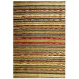 """Acura Rugs Natural Jute Diane Collection Area Rug, Hand Woven Jute Rug 5' x 8' Feet / 60""""W x 96""""L"""