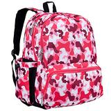 Wildkin Kids 17 Inch Backpack for Boys and Girls, Perfect Size for Middle, Junior, and High School, 600-Denier Polyester Fabric Kids Backpack Measures 17 x 12 x 9 Inches (Camo Pink)