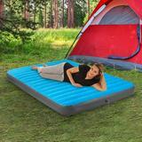 """Air Comfort Camp Mate 8"""" Air Mattress in Blue, Size 8.0 H x 60.0 W x 8.0 D in   Wayfair 6303QLB"""