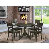 5 PC small Kitchen Table and Chairs set-Dining Table and 4 dinette Chairs