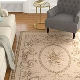 Astoria Grand Leland Hand-Knotted Wool Beige Area RugWool in White, Size 102.0 H x 66.0 W x 0.5 D in   Wayfair ASTG1366 29935612