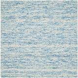Wrought Studio™ Nasir Abstract Hand-Woven Flatweave Wool Blue Area Rug Wool in Blue/Brown, Size 72.0 W x 0.63 D in   Wayfair VKGL4363 30574973