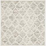 Winston Porter Bertok Geometric Handmade Flatweave Wool Light Brown/Ivory Area Rug Wool in Brown/White, Size 0.63 D in   Wayfair VKGL4364 30574981