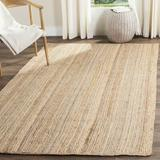 August Grove® Fithian Hand-Woven Flatweave Natural Area Rug in White, Size 108.0 H x 72.0 W x 0.5 D in | Wayfair ATGR5111 30573898
