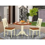 3 PC small Dining set-Dining Table and 2 Kitchen Chairs