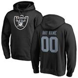 """""""Men's Fanatics Branded Black Las Vegas Raiders Personalized Icon Name & Number Pullover Hoodie"""""""
