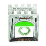 Weave Got Maille Japanese Chain Maille Bracelet Kit-Irish Lace, Shamrock/Silver